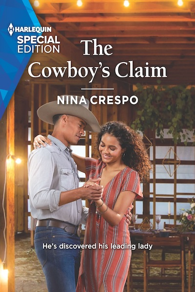 Book cover for The Cowboy's Claim (Tillbridge Stables) by Nina Crespo